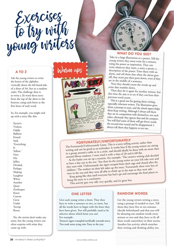 Writing Magazine Preview 26
