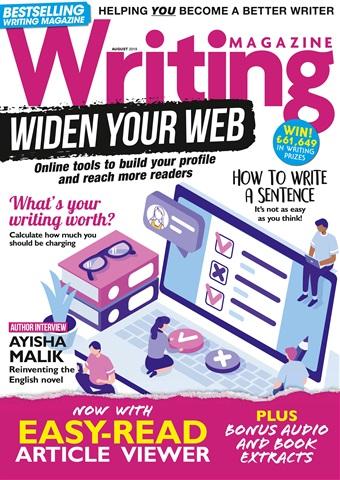 Writing Magazine issue August 2019