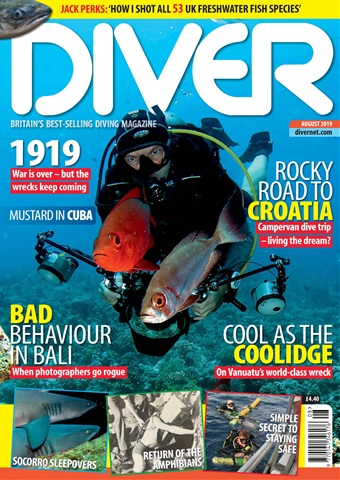 DIVER issue AUGUST 2019