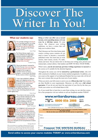 Writing Magazine Preview 2