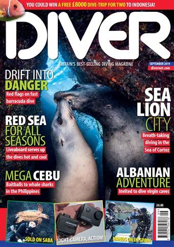 DIVER issue SEPTEMBER 2019