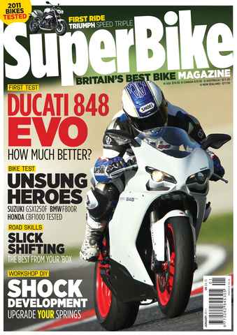 Superbike Magazine issue January 2011
