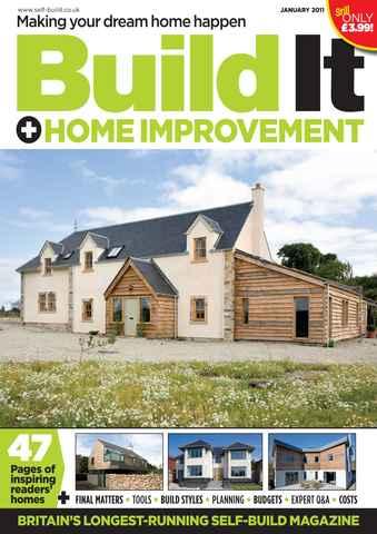 Build It issue Jan 2011