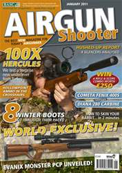 Airgun Shooter issue January 2011