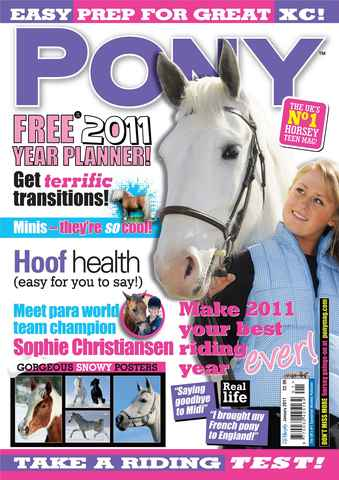 Pony Magazine issue January 2011