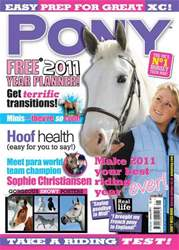 Pony Magazine issue January 2011