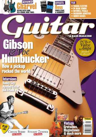 Guitar & Bass Magazine issue Jan 2011 Gibson & the Humbucker