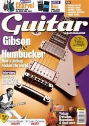 Guitar & Bass Magazine issue Jan 2011 Gibson & the Humbucker