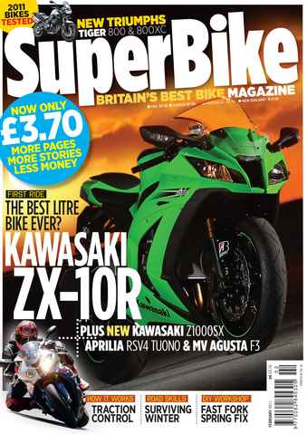 Superbike Magazine issue February 2011