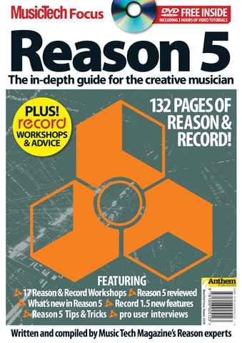 MusicTech Focus : Reason 5 issue REASON 5