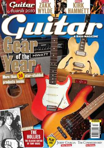 Guitar & Bass Magazine issue Winter 2010 Gear of the Year