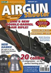 Airgun Shooter issue February 2011