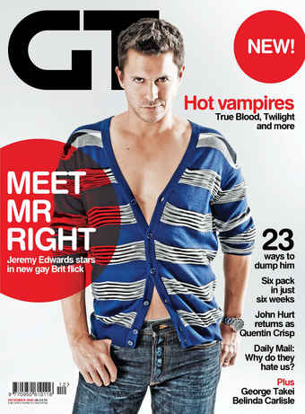 Gay Times issue Dec 2009