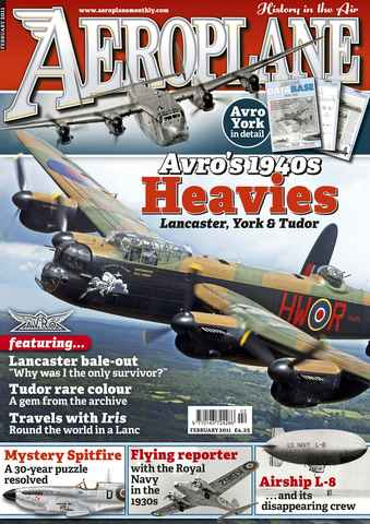 Aeroplane issue No.454 Avro's 1940s Heavies