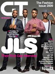 Gay Times issue Oct 2009