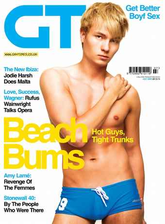 Gay Times issue July 2009
