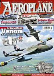Aeroplane issue No.453 de Havilland Venom
