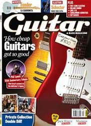 Guitar & Bass Magazine issue February 2011 Cheap Guitars