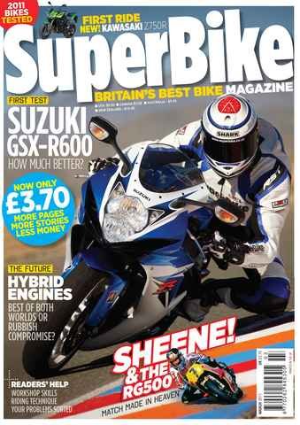 Superbike Magazine issue March 2011