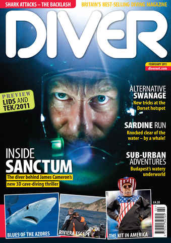 DIVER issue February 2011