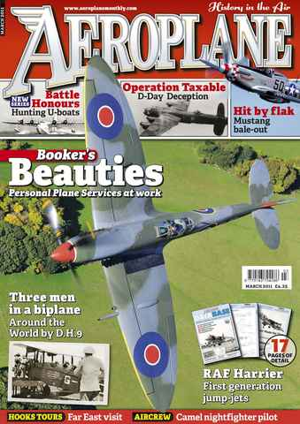 Aeroplane issue No.455 Booker's Beauties