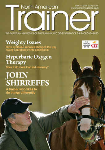 North American Trainer Magazine - horse racing issue 14