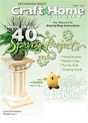 Craft & Home Projects issue Spring 2012