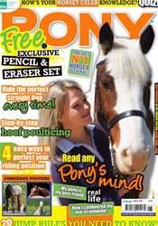 Pony Magazine issue Spring 2012