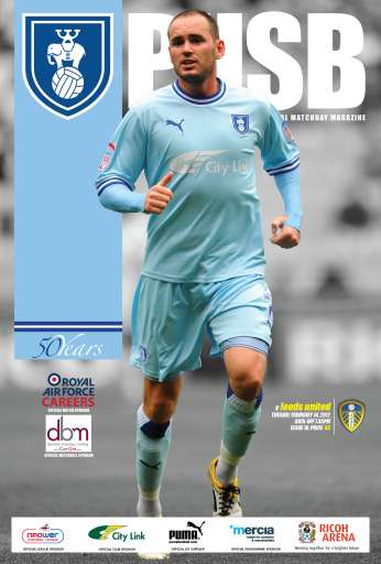 CCFC Official Programmes Preview