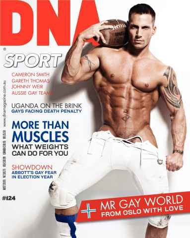 DNA Magazine issue DNA #124 - Sports
