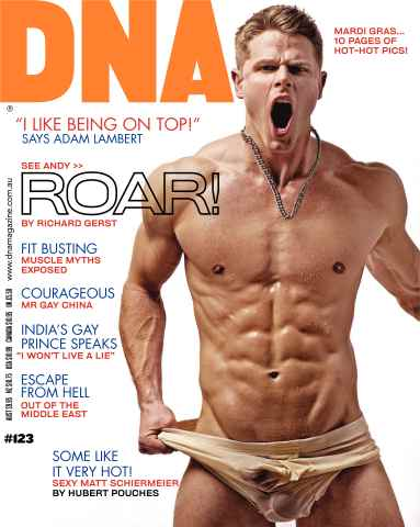 DNA Magazine issue DNA #123 - Mardi Gras