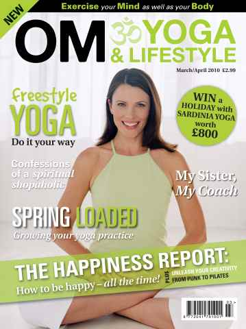 OM Yoga UK Magazine issue March-April 2010 - Issue 3
