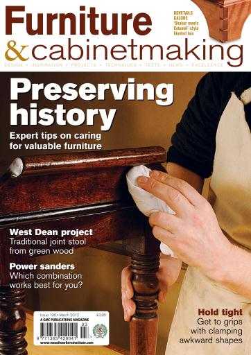 Furniture & Cabinetmaking Magazine - March 2012 ...