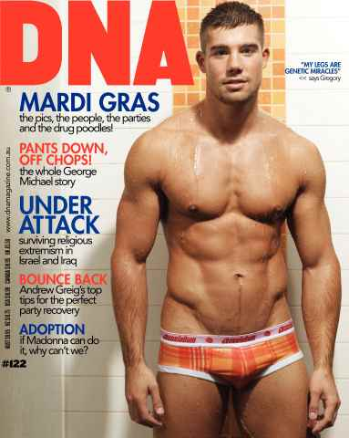 DNA Magazine issue DNA #122 - Mardi Gras