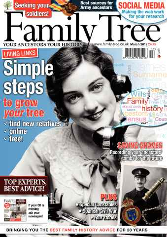 Family Tree issue March 2012