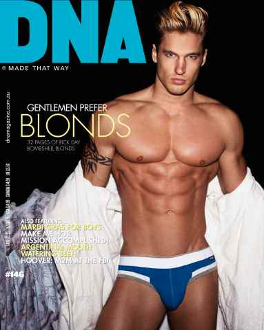 DNA Magazine issue  #146 - Blond Issue