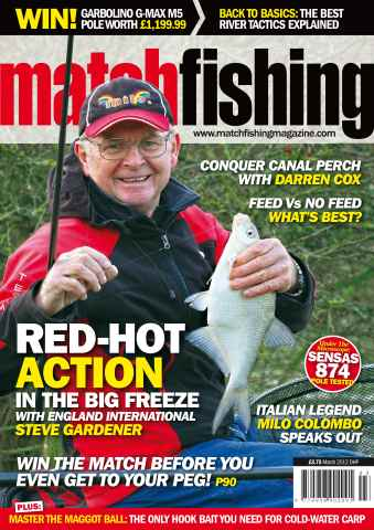Match Fishing issue March 2012