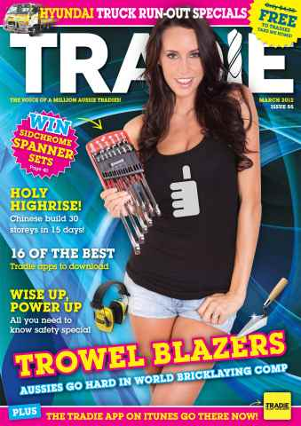 Tradie issue March 2012