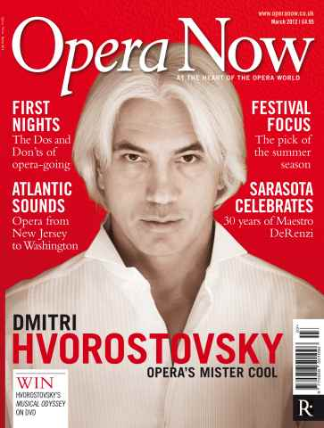 Opera Now issue March 2012