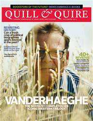 Quill & Quire issue September 2011