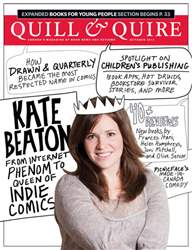 Quill & Quire issue October 2011