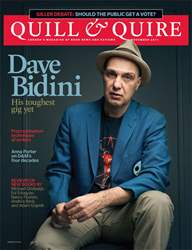 Quill & Quire issue November 2011