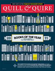 Quill & Quire issue December 2011