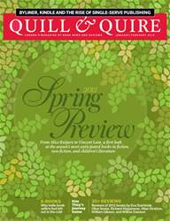 Quill & Quire issue January-February 2012