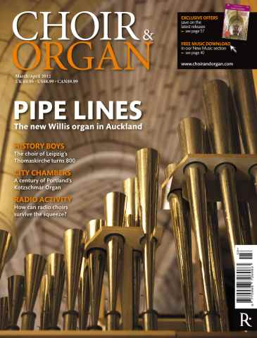 Choir & Organ issue Choir & Organ March-April 2012