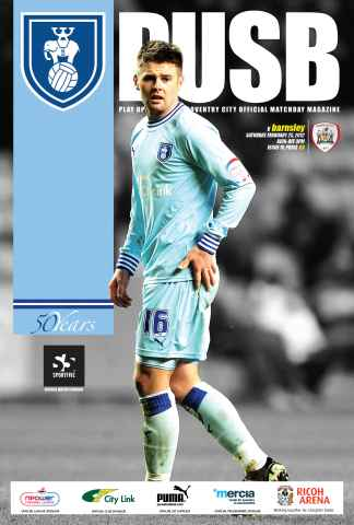 CCFC Official Programmes issue 19 v BARNSLEY (11-12)