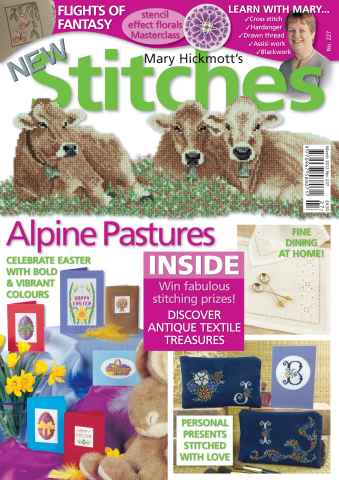 New Stitches issue Issue 227
