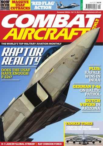 Combat Aircraft issue Vol 13 No 4