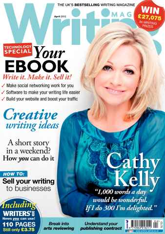 Writing Magazine issue April 2012