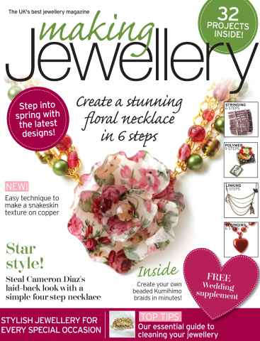 Making Jewellery issue April 2012